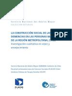 Construccion Social de La Demencia. CHILE