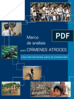 Framework of Analysis for Atrocity Crimes_SP