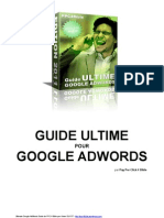 Guide Ultime Pour Google AdWords Par PPC4BIBLE (Edition 2011)