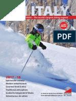 Dolomites Ski Tours Brochure 2018