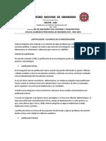 Unc Justificación y Alcances de La Investigación.