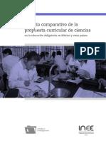 Estudio Comparativo de La Propuesta Curicular de Ciencias