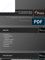 Development Process of an Educational Game. an Experience in Brazil