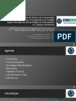 Relato de Experiência de Ensino de Computação No Ensino Fundamental Em Estágio Supervisionado Da Universidade de Pernambuco No Campus Garanhuns