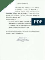 Declaración Donación Libros