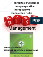 2. Standard and Risk Management