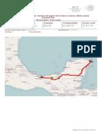 Ruta Alterna_ de Coatzacoalcos, Veracruz de Ignacio de La Llave a Cancún, Benito Juárez, Quintana Roo