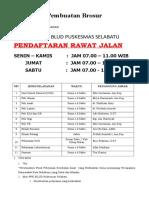 1.1.1.2Brosur, Flyer, Papan Pemberitahuan, Poster