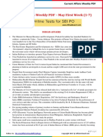 Current Affairs Weekly Pocket PDF 2017  - May(1-7)by AffairsCloud.pdf