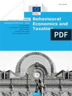 ## Behavioral Economics and Taxation