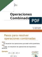 Operaciones Combinadas