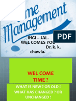 Time Mgt Ppt
