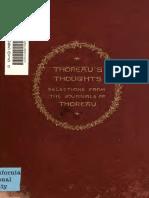 Thoreau's Thoughts_1890
