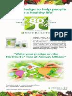 Nutrilite(80th Anniversary)