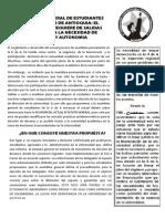 Comunicado UdeA 14 julio 2010, A LA ASAMBLEA GENERAL DE ESTUDIANTES DE LA UNVIERSIDAD DE ANTIOQUIA