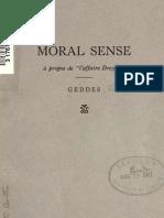 "(1889) Moral Sense a Propos de ""l'Affaire Dreyfuss"""