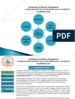 VITS Karimnagar - Dept. of Business Mgmt. Profile