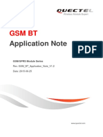 Quectel GSM BT Application Note V1.2