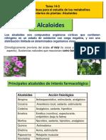 Tema 14 3 Alcaloides Resumen