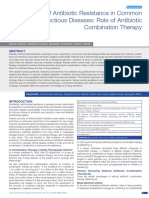 Role of Antibiotic Combination Therapy