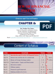 FIN536 Chapter 1b (Sources and Uses of Funds)