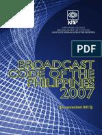 KBP Broadcast Code 2011