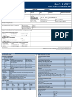 Plant Risk Assessment Form