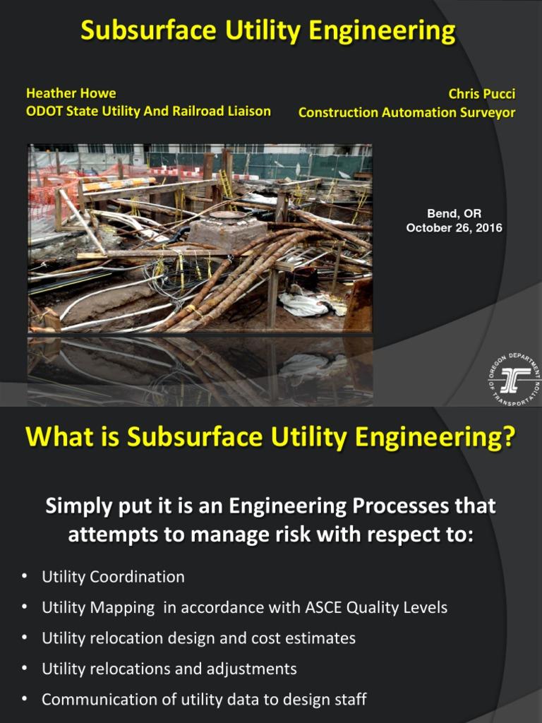 Amazing Subsurface Utility Engineering Resume Ensign ...