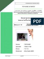 TSB Module10 Marocetude.com Techniques de Communication