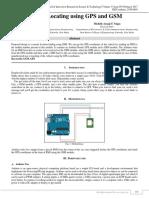 Vehicle locator using GPS and GSM