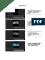 my editing process