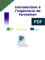 Introduction à l'Ingénierie de Formation