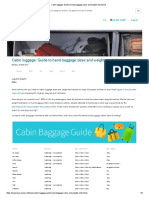 Cabin Luggage_ Guide to Hand Baggage Sizes and Weight Restrictions