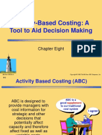 Activity Based Costing - Chapter 8