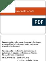 Curs 6 MD - Pneumonii