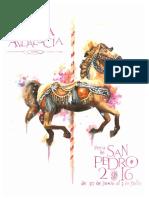 Revista Feria La Roda de Andalucía