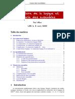 Vocabulaire de La Logique Et Theorie Des Ensembles