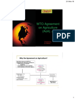Lecture-07 WTO Agreement on Agriculture