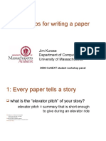 Top 10 Tips for Writing a Paper