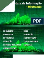 Arquitetura Da Informacao Wireframes