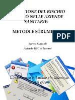 Rischio Clinico Enrico Mazzoli Slide