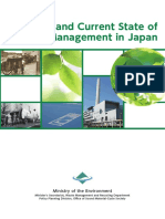 History and Current State of Waste Management in Japan