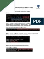 Manual de Instalación de Postgresql