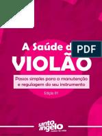 LIVRO - A Saude Do Violao - Alexandre Berni - Blog Santo Angelo