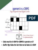 Buffer Management in DBMS.