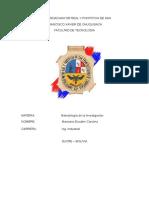 TAREA #9  LOS METODOS O INDAGACIONES EMPIRICAS.docx