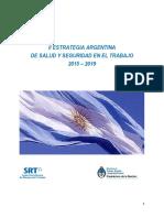 Estrategia Argentina de Seguridad y la Salud en el Trabajo - 2015-2019