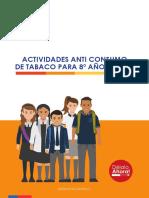 Actividades Anti Consumo de Tabaco 8º