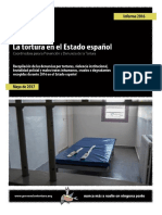 Informe-CPDT sobre 'La tortura en el estado español' (2016)