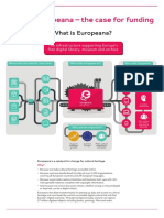 Europeana - The Case for Funding
